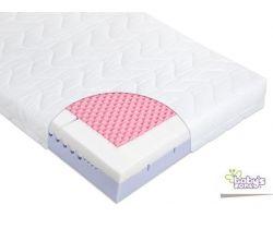 Matrac 120x60 cm Baby´s Zone Quatro Visco Comfort
