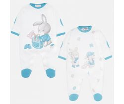 Overal 2 ks Mayoral Bunny Mint