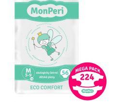 Mega Pack detské plienky 224 ks 5-8 kg MonPeri Eco Comfort M