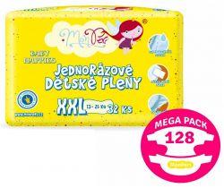 Mega Pack Plienky 13-25 kg 128 ks MonPeri XXL
