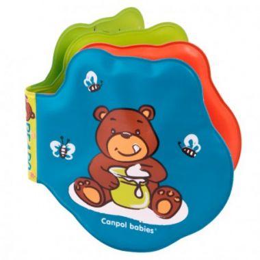 Canpol Medvede mäkká vyfarbovacia pískacia knižka