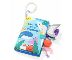 Mäkká senzorická knižka BabyOno Ocean