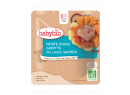 Menu sladké zemiaky mrkva losos 190g Babybio