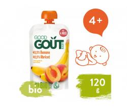 Marhuľa s banánom (120 g) Good Gout BIO