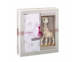 Môj prvý darčekový set + zavinovačka mäkká Vulli Sophie žirafka