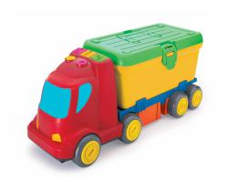 Nákladiak s boxom na náradím B-Kids Busy Baby Stackers