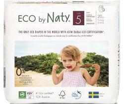 Naťahovacie plienkové nohavičky Naty Junior 12 - 18 kg (20 ks)