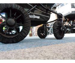 Návleky na kolesá so suchým zipsom 4 ks Pinokio Deluxe