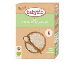 Nemliečna kaša ryžová 200 g Babybio Bio