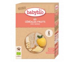 Nemliečna kaša s ovocím 200 g Babybio Bio