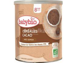 Nemliečna ryžová kaša s kakaom 220 g Babybio