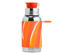 Nerezová fľaška so športovým uzáverom 550 ml Pura