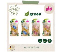Cumlík kaučuk NIP Green Line Mix farieb 2 ks
