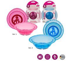 Jedálenský miska NIP Mix farieb 1 ks