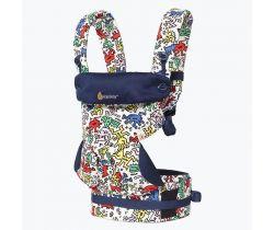 Nosič na nosenie detí ErgoBaby 360 Keith Haring