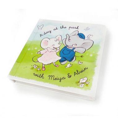 Obrázková knižka Meiya & Alvin A Day At The Park