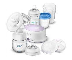 Odsávačka materského mlieka Avent Natural elektronická-sada pre dojčenie