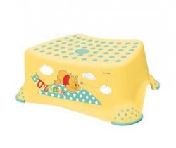 OKT Winnie the Pooh stupienok k WC/umývadlu žltá
