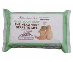 Organické vlhčené obrúsky bez vône 72 ks Beaming Baby