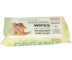 Organické vlhčené obrúsky s vôňou 72 ks Beaming Baby