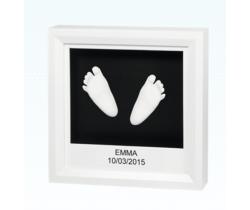 Otisk nožičiek v rámčeku Baby Art Window Sculpture Frame