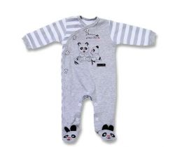 Overal Lafel Panda White/Grey