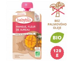 Ovocná kapsička mango a bazový kvet 120 g Babybio