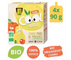 Ovocné BIO kapsičky 4x90g Vitabio Cool Fruits jablko, hruška a acerola