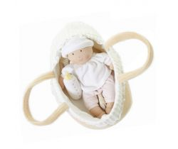 Bábika bábätko v košíku Bonikka