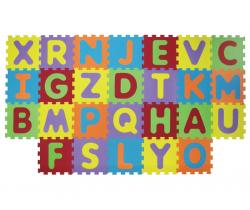 Penové puzzle 143x48 cm Ludi Písmenka