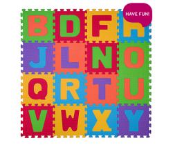Penové puzzle 16 ks BabyOno Písmenká