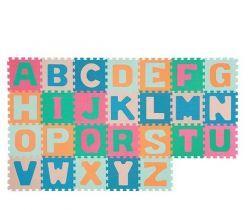 Penové puzzle 26 ks BabyOno Abeceda