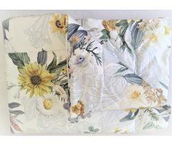 Perinka a vankúš Feretti Yellow Flowers