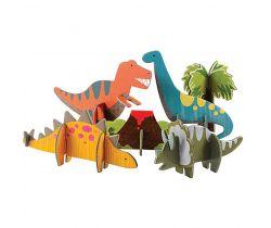 3D puzzle Petitcollage Dinosaury