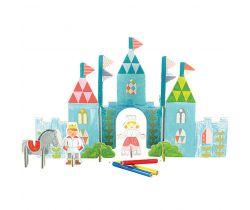 3D puzzle Petitcollage Zámok s farbami