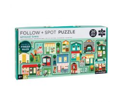 Bludisko a puzzle Petitcollage Mesto