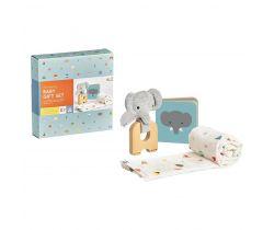 Darčekový set pre bábätká Petitcollage Slon