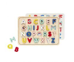 Drevené puzzle Petitcollage Abeceda