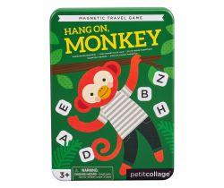 Magnetická hra Petitcollage Počkaj, opičky