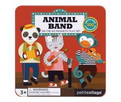 Magnetická knižka Petitcollage Zvieratká