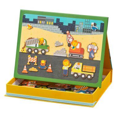 Magnetická tabuľka Petitcollage Stavba