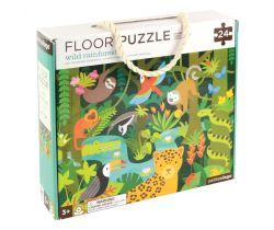 Podlahové puzzle Petitcollage Dažďový prales
