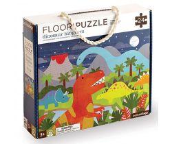 Podlahové puzzle Petitcollage Kráľovstvo dinosaurov