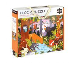 Podlahové puzzle Petitcollage Lesné zvieratká