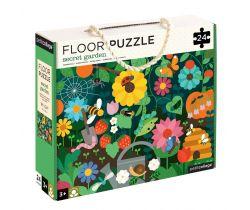 Podlahové puzzle Petitcollage Tajomná záhrada