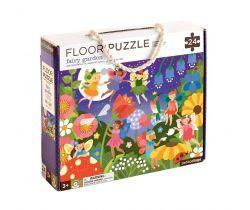 Podlahové puzzle Petitcollage Záhradný víly