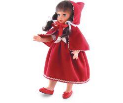 Bábika Červená čiapočka Petitcollin 40 cm