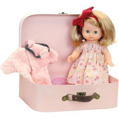 Bábika v kufríku Petitcollin Elsa 28 cm