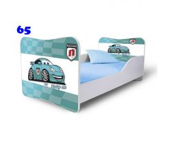 Pinokio Deluxe Butterfly Auta 65 Detská posteľ
