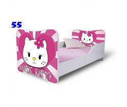 Pinokio Deluxe Butterfly Hello Kitty 55 Detská posteľ